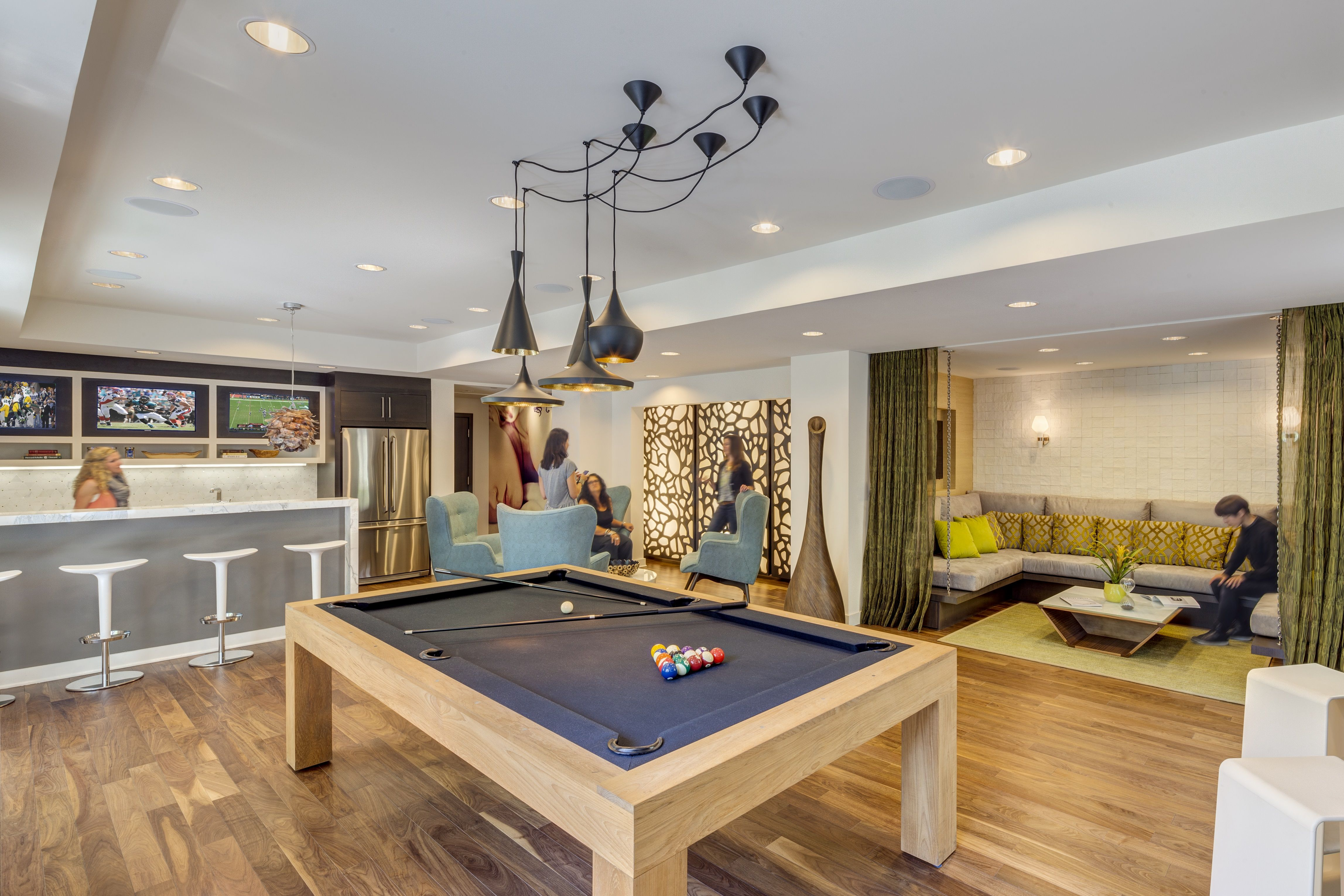 The Hesby | Multi-Use Club Room | Bar | Game Room | Lounge ...