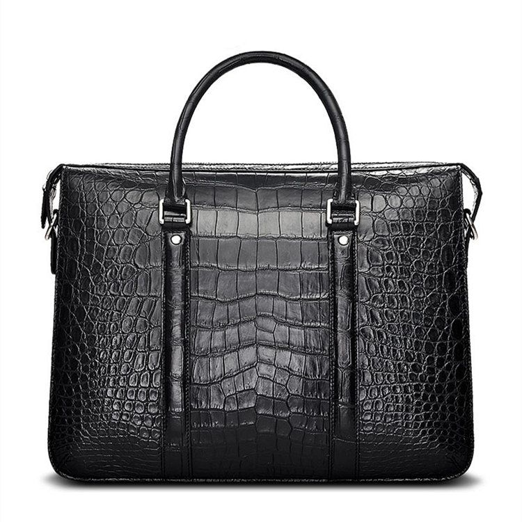 afd6eb68be10 Luxury Crocodile Laptop Bag Briefcase for Men