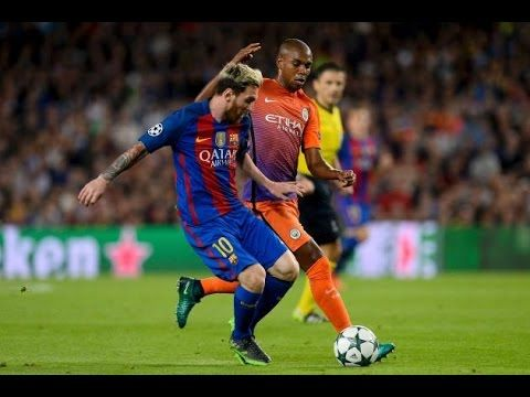 Barcelona Vs Man City Highlights 4 0 Lionel Messi S Hat Trick Vs Man Champions League Football Barcelona Vs Manchester City Lionel Messi
