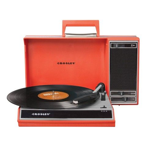 Spinnerette Portable Turntable- Red