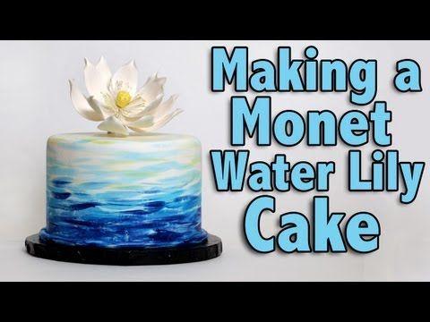 Large Lotus Flowers Lily Cake Cake Tutorial Cake Decorating Tips