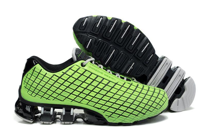 Best Drop Shipping Adidas Porsche S4 Mens running shoes Black green