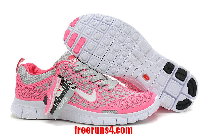 100% authentic d6769 a79bb Wholesale Cheap Womens Nike Free 6.0 Running Shoes Think Pink Soft Grey  White