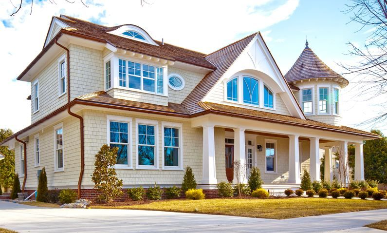 A New House With Turn Of The Century Style By Buck Custom
