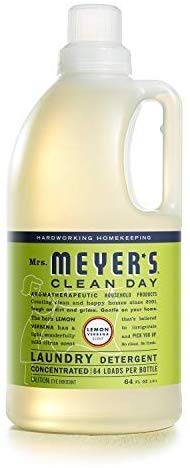 Amazon Com Mrs Meyer S Laundry Detergent Lemon Verbena 64 Oz Health Personal Care Laundry Detergent