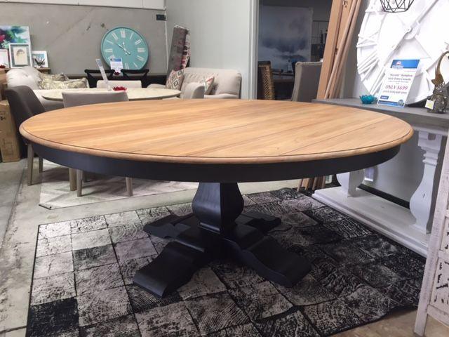 Round Timber Dining Table Eghclkk Timber Dining Table Black