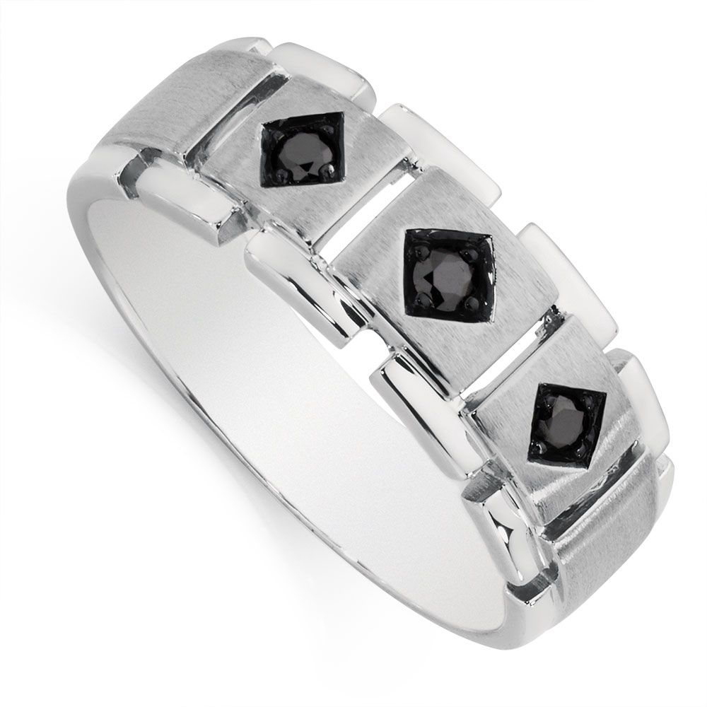 Michael Hill Black Diamond Mens Ring Ring Pinterest Michael