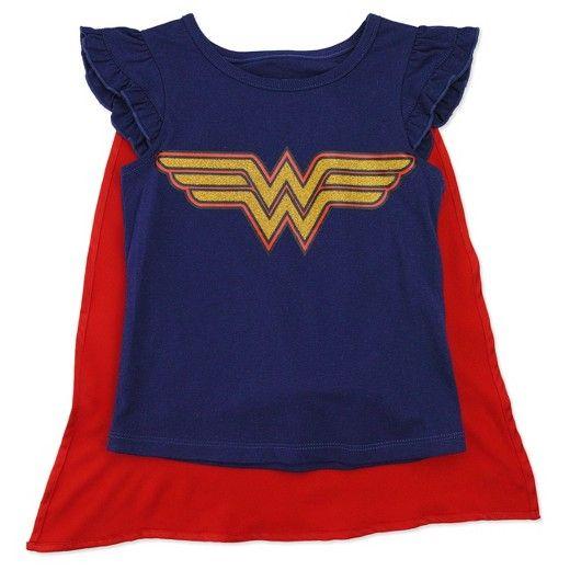 9d25403e2bc5 Toddler Girls Wonder Woman T-Shirt - Blue : Target | Wonder Woman ...