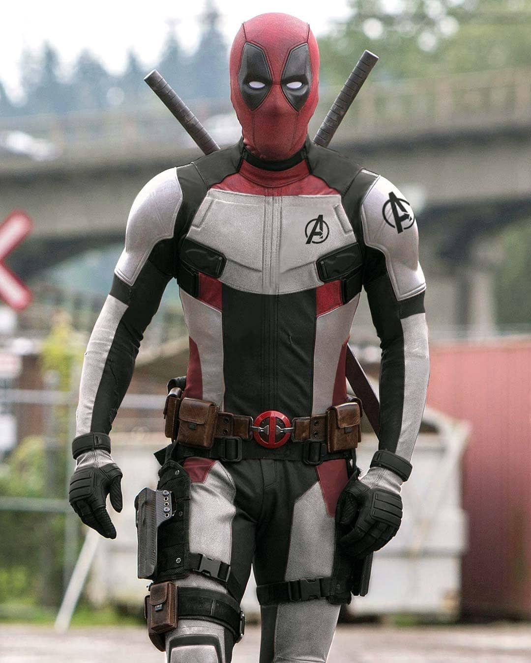 Deadpool Avengers Endgame Fan Art By Rahalarts