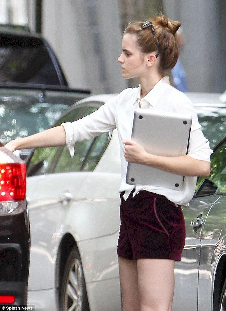 Adorable Emma Watson Street Style 97