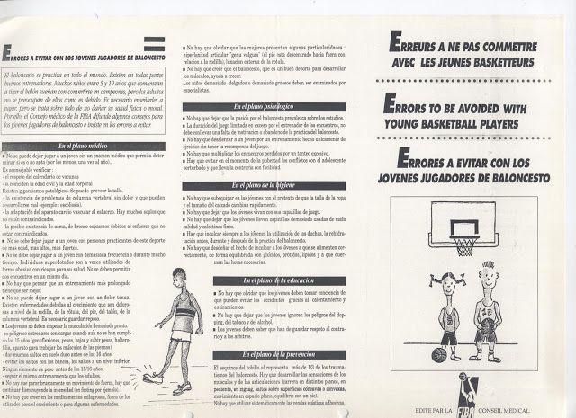 VIVE EL BASKET CON EDUARDO BURGOS: Errores a evitar con los jóvenes jugadores de balo...