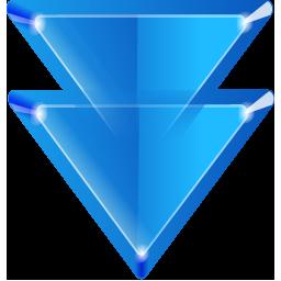 Blue Double Arrow Webpage Design Garcinia Cambogia Reviews Transparent Background