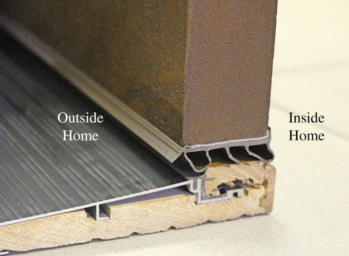 Exterior Door Threshold Weather Stripping Httpthefallguyediting