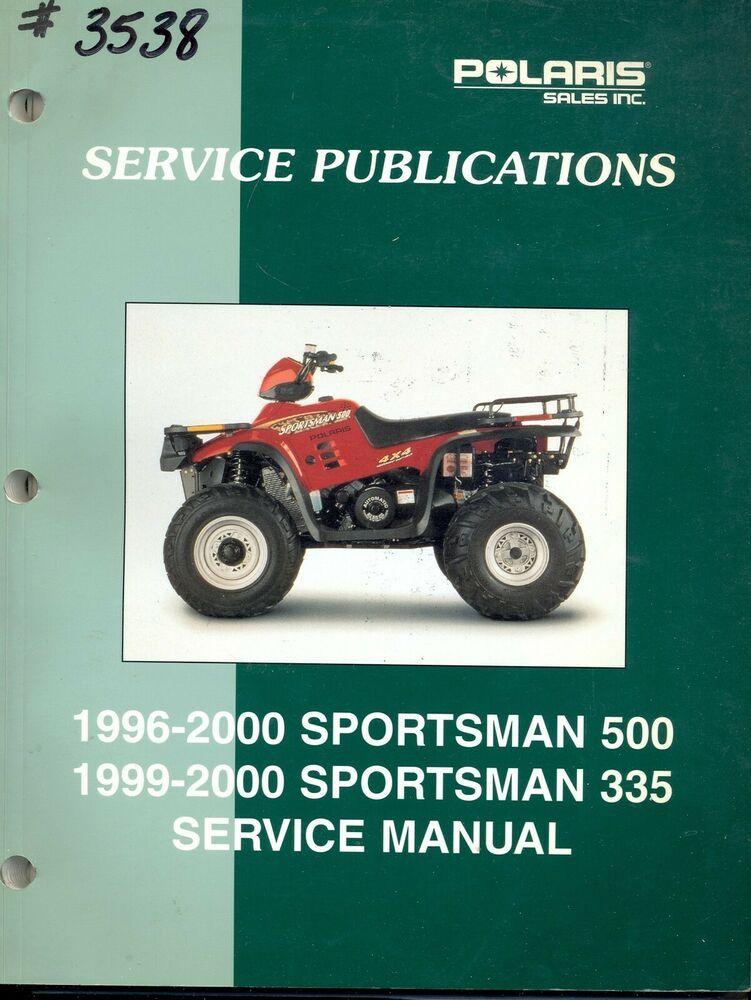 33 2000 Polaris Sportsman 500 Parts Diagram