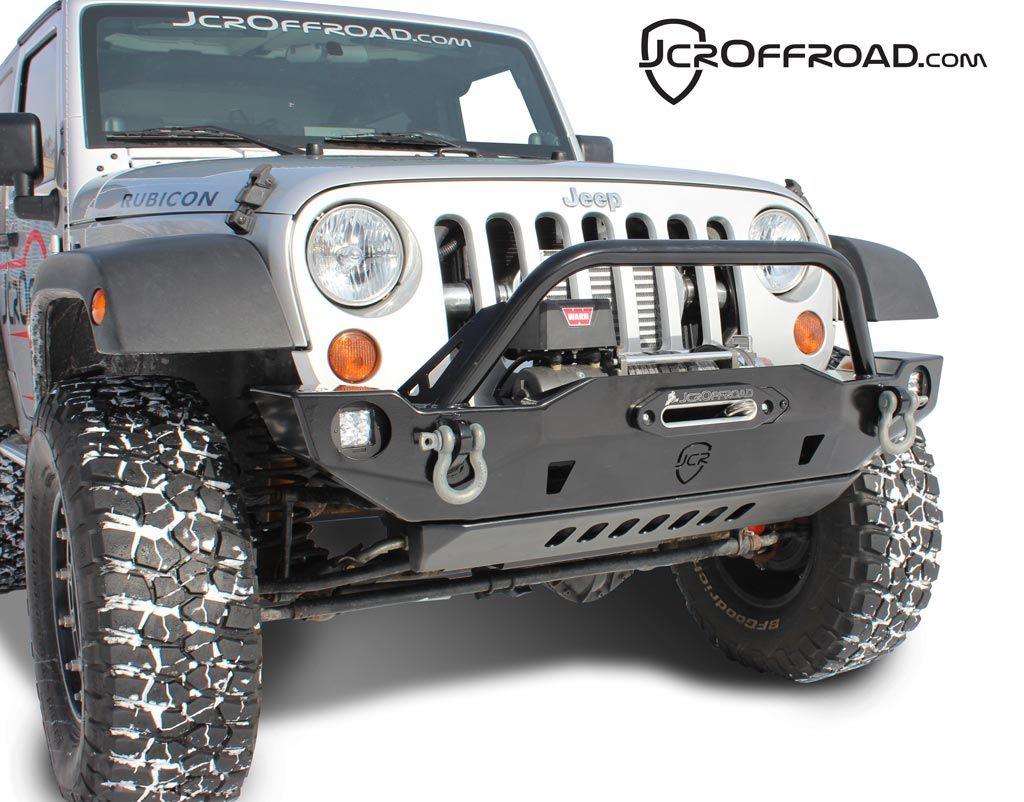 Mid width front winch bumper for jk wranglers jeep jkjeep wranglerjeep modswrangler unlimitedaccessorieshtmlcrusadersproducts