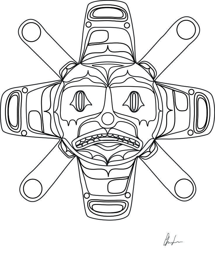 Canadian First Nations Coloring Pages  Coloring Pages Now  Misc