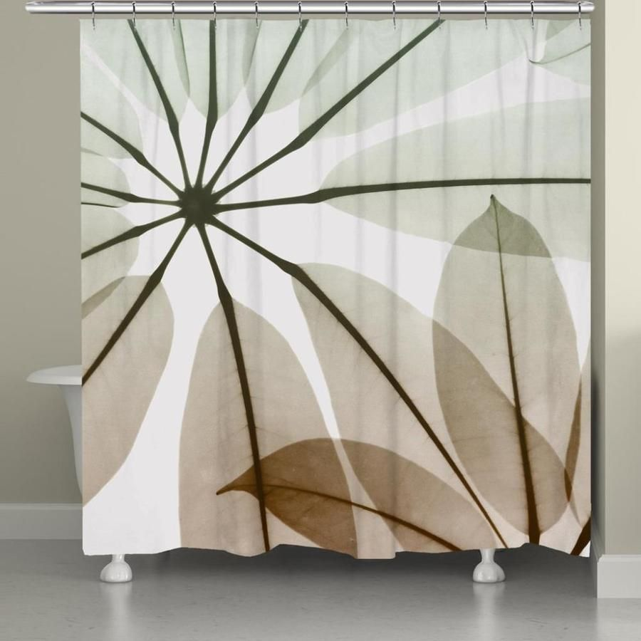 Laural Home Earthy Brassy Shower Curtain 71x72 Earb72sc In 2020