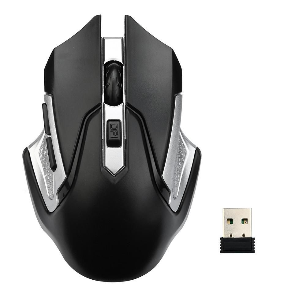 Wireless Optical Mouse Mice Usb Gaming 24ghz High Quality Iron Man Game 20 Receiver