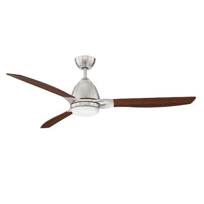 17 Stories 52 Amd 3 Blade Led Ceiling Fan With Remote Ceiling