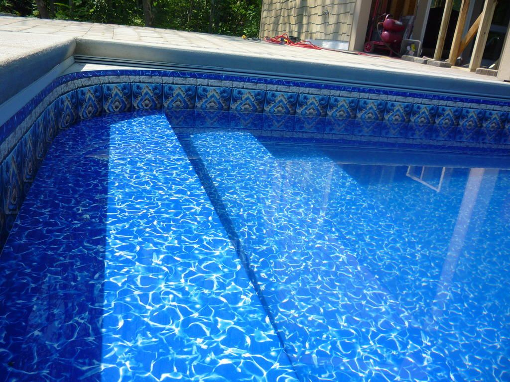 Swiming Pools Lovely Vinyl Inground Pools With Vinyl Liner Patterns Also Choosing Your Vinyl