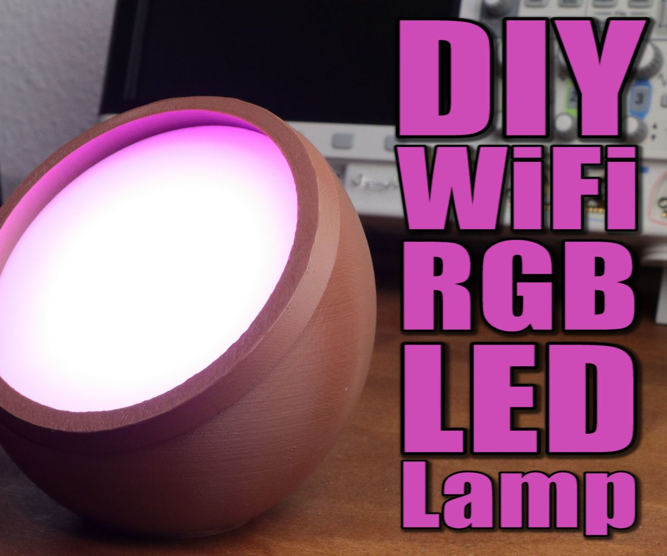 Diy Wifi Rgb Led Lamp Current Source And Arduino What Are You Building This Weekend Build Electronic Circuits