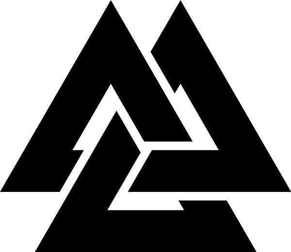 Valknut Vak Not The Symbol Of Odin Aka Knot Of The Slain