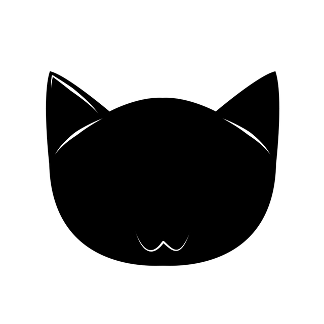 Found On Bing From Pixabay Com Cat Face Black Cat Silhouette Cat Silhouette