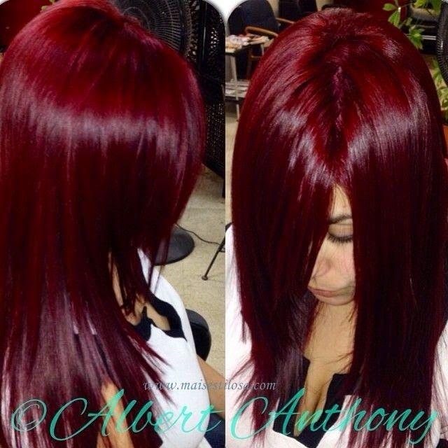 50 fotos de cabelos ruivos do tom vermelho, vinho ao ...