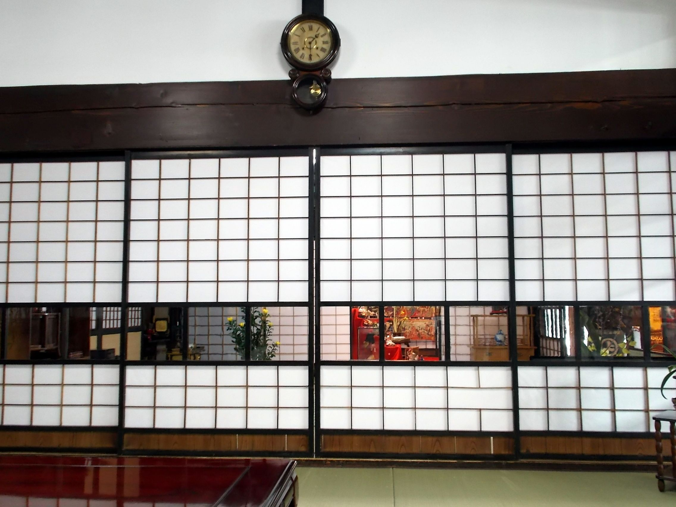 角館、安藤家居間  Kakunodate-city, The Traditional Japanese Dining-room