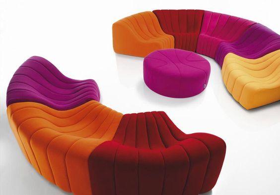 Design By Kwok Chromatique Tissu En Canapé Original Modulable TkZiuPXO