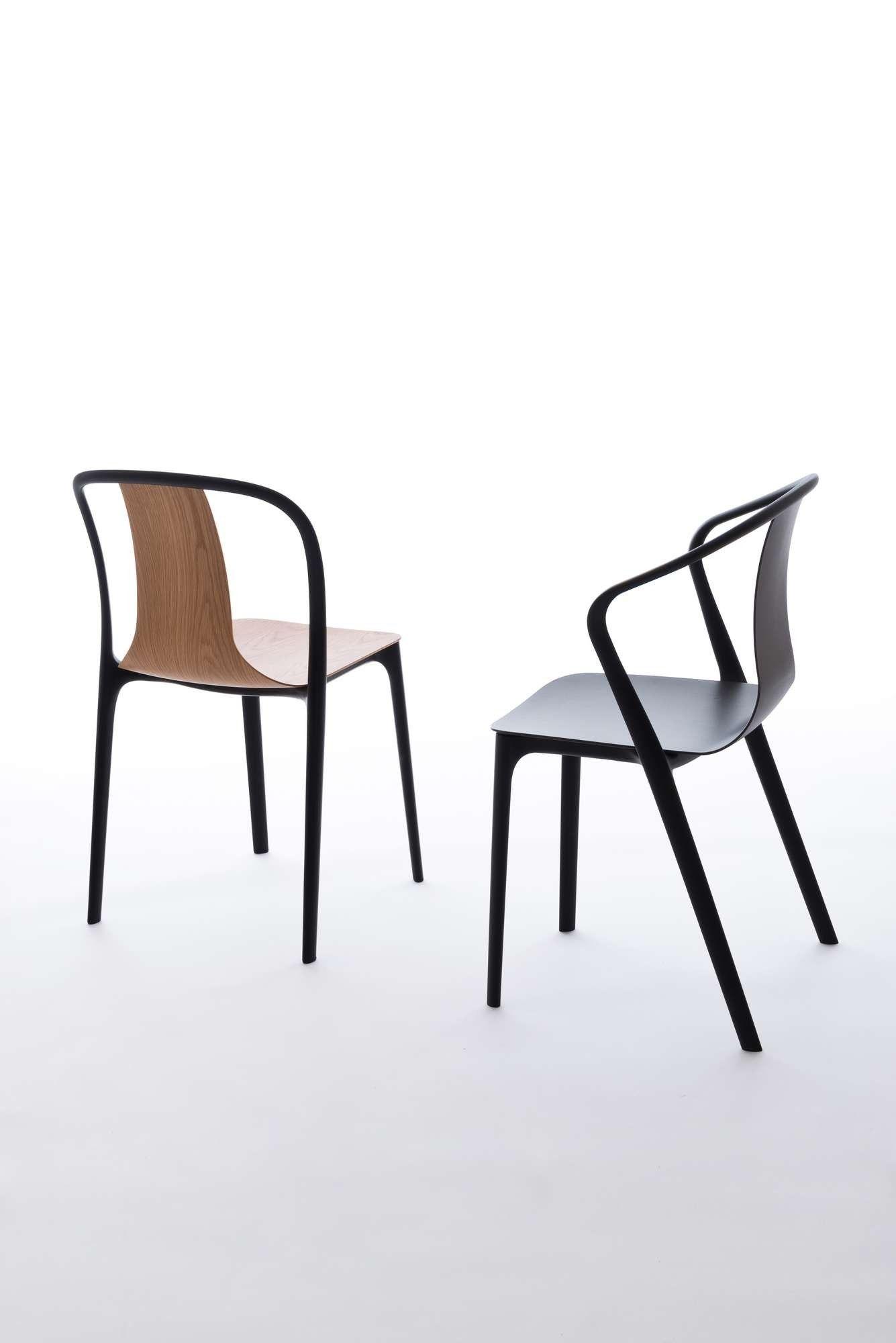 Einrichten Design De belleville armrest chair vitra einrichten design de furniture