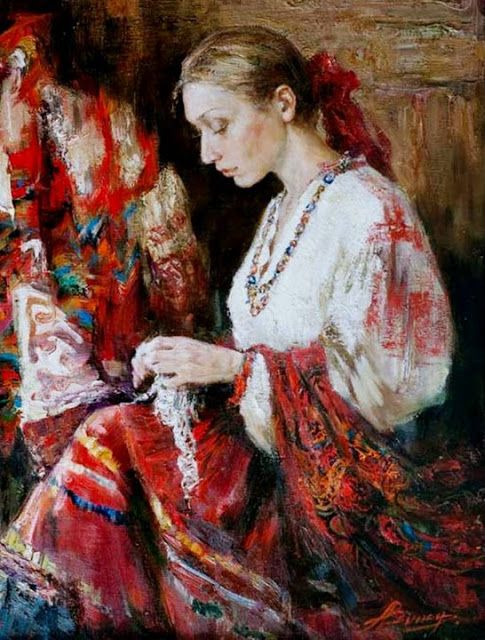 You Painted Of Russian Woman