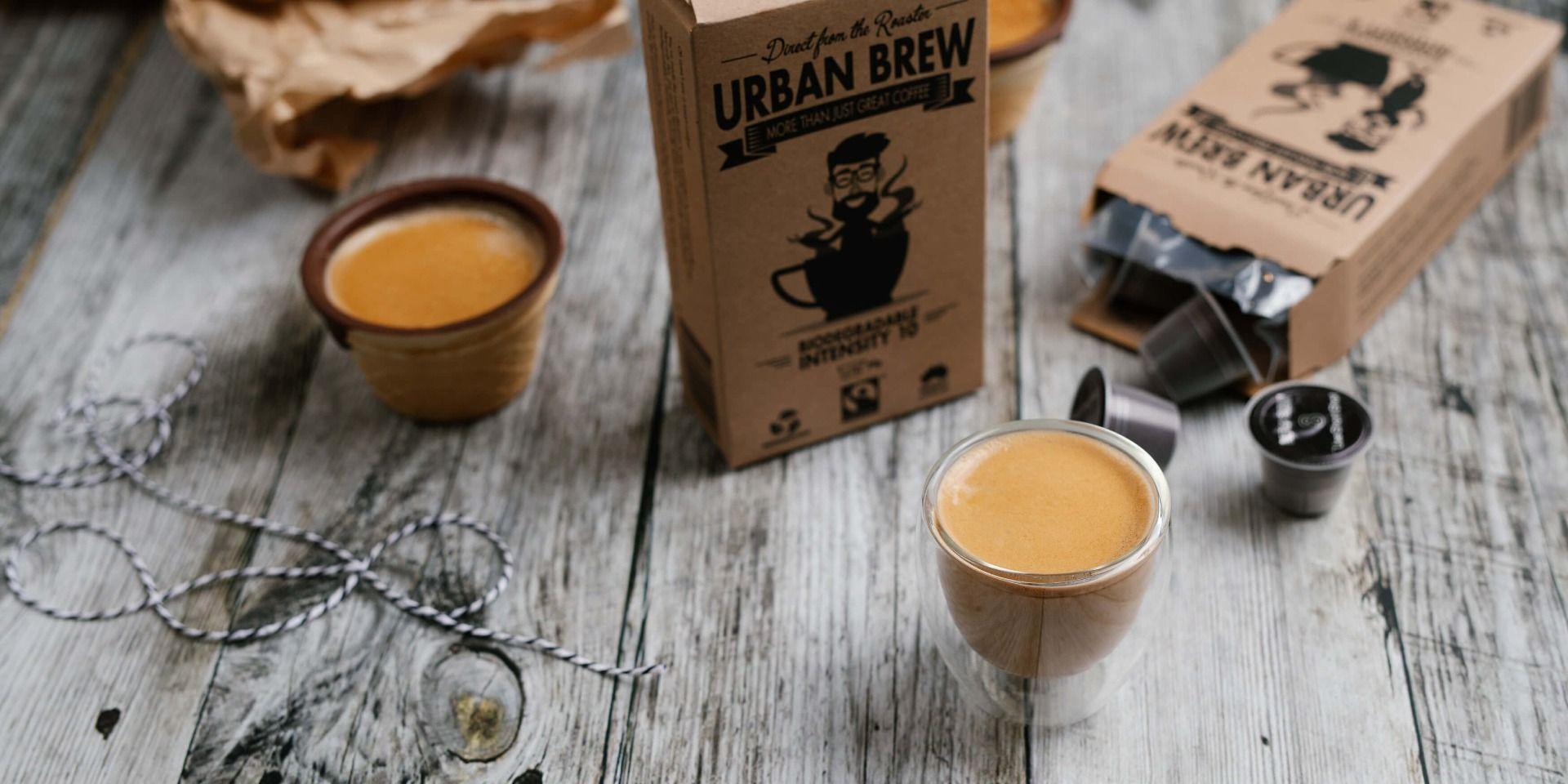 Coffee Pods Coffee Capsules I Urban Brew Coffee Pods Coffee Capsules Brewing