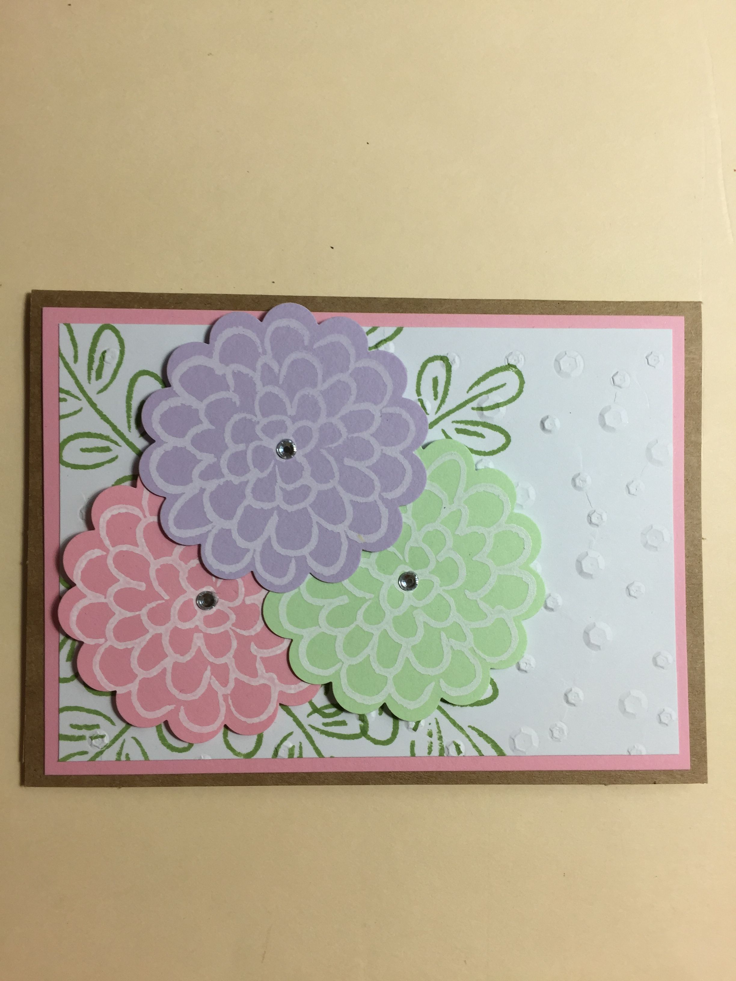Stampin Up Flower Fest 2018 Stampin Up Birthday Cards Stampin Up Cards Cards