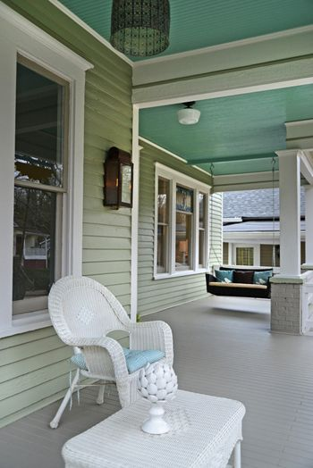 Sherwin Williams Willow Tree Bungalow Exterior