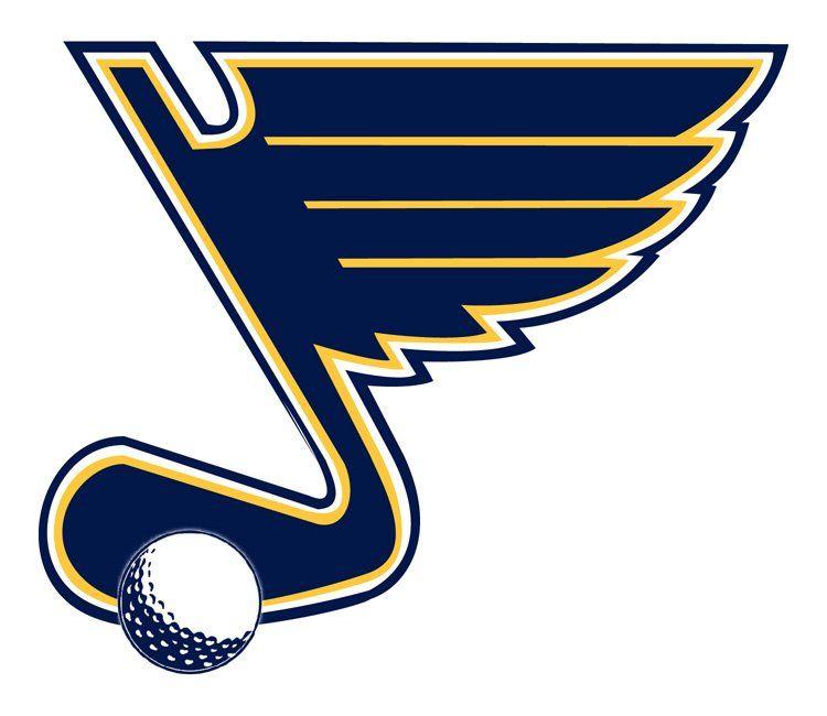 Solid St Louis Parody Logo National Hockey League Hockey Sport Team Logos