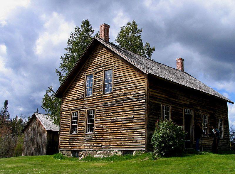 House at John Brown's Farm