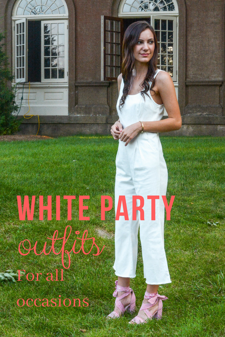 How to white a wear party dress
