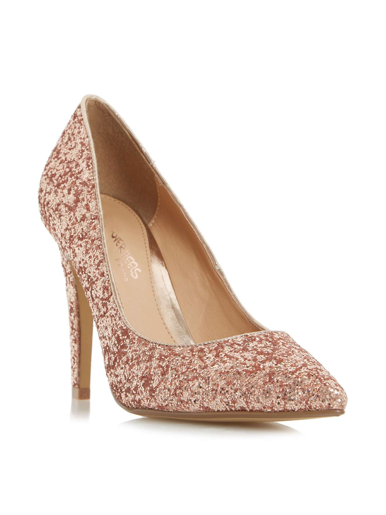 a4603d991d6 Head Over Heels Addyson Square Heel Pointed Courts - House of Fraser ...
