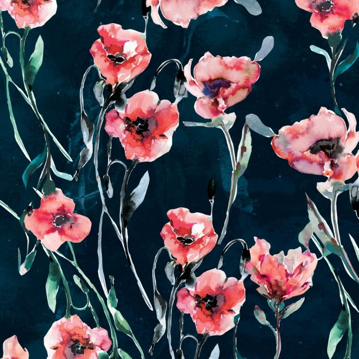 Poppies Art Print By Nikkistrange Society6 Floral Watercolor