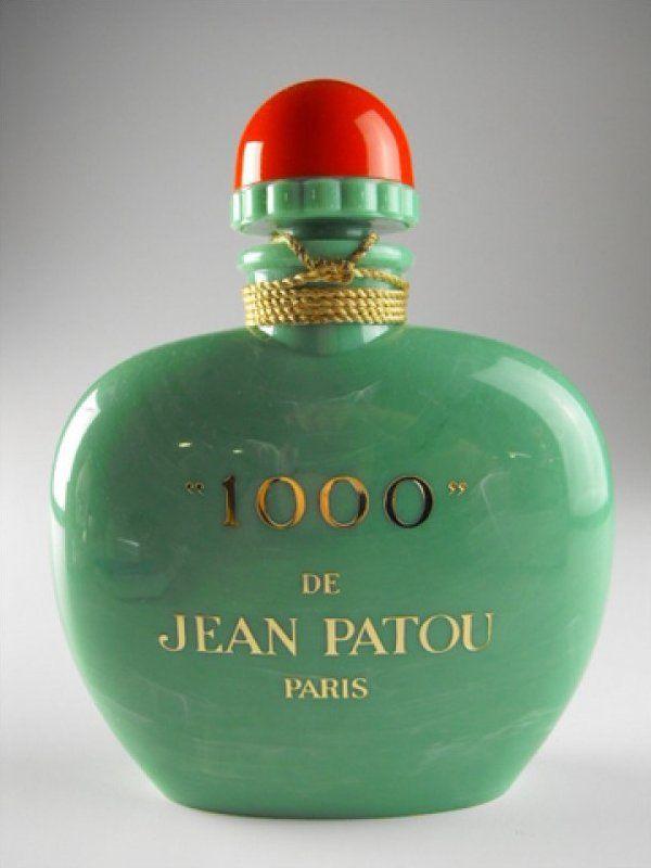 factice 1000 de jean patou paris parf m flakons. Black Bedroom Furniture Sets. Home Design Ideas