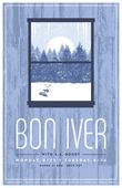 Bon Iver concert poster by DKNG (SOLD OUT)