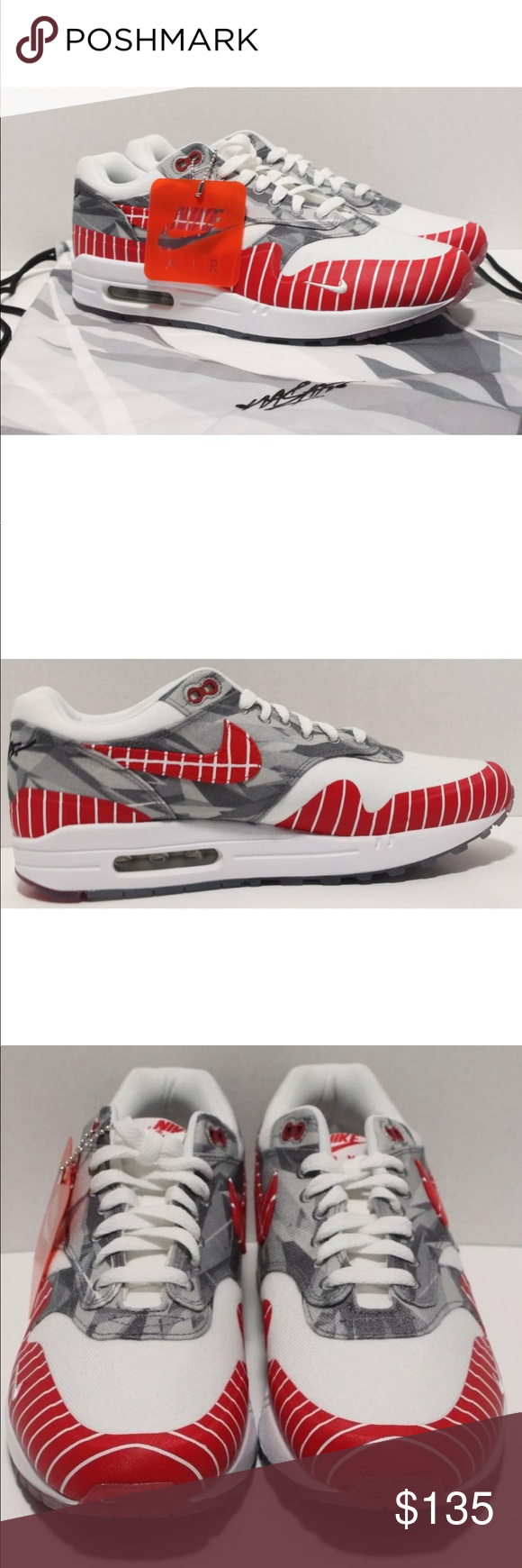 2b9dc27a4d4 Nike Air Max 1 LHM Latino Heritage Month Size 9.5 100% Authentic Condition   New Without Box