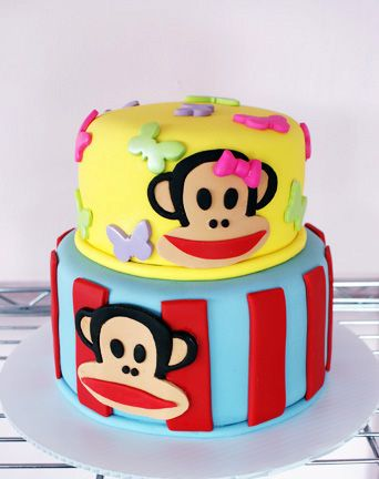 Paul Frank Monkey Cake Nathalie Montecchi Bearden In OK Combine This With Pirate Theme For H B