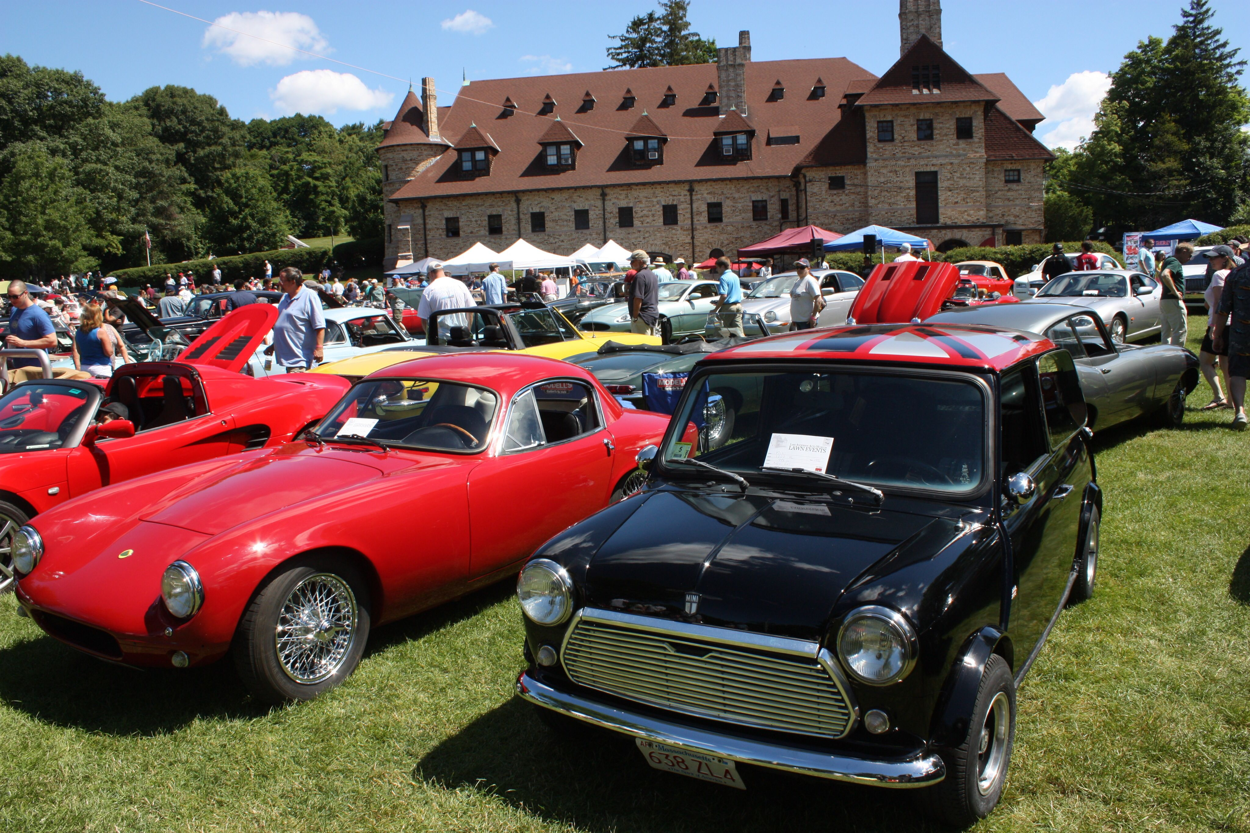 First Car Show British Car Day  Larz Anderson Auto Museum - Classic car museums in usa