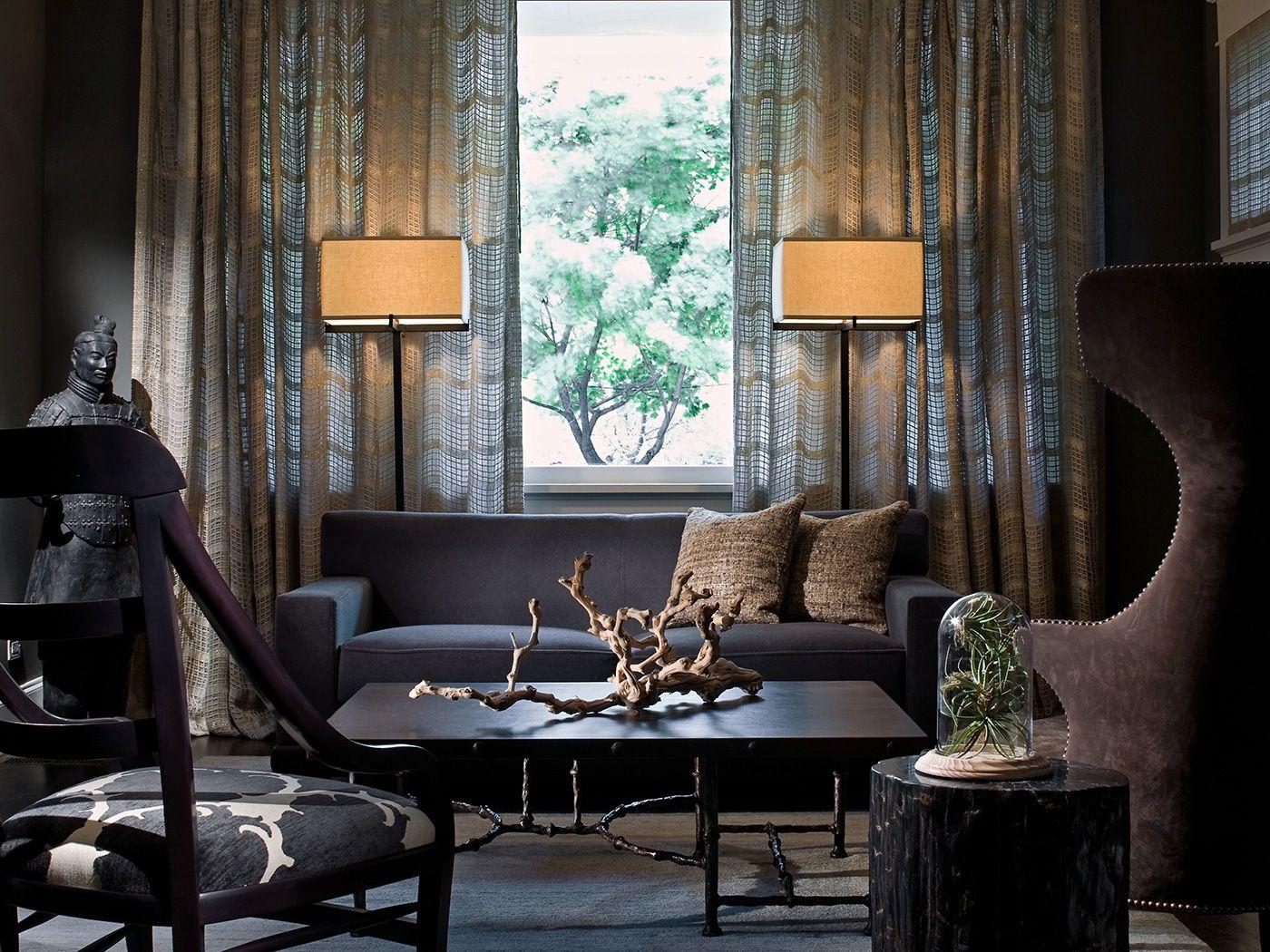 Modern eclectic by kara mann design livingroom modern eclectic