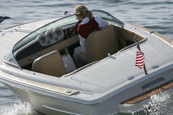 New 2007 Chris Craft Speedster Woody Runabout Boat | Chris