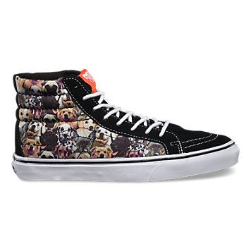 413897a3642bf2 Vans collaboration with the ASPCA- dog print high top!