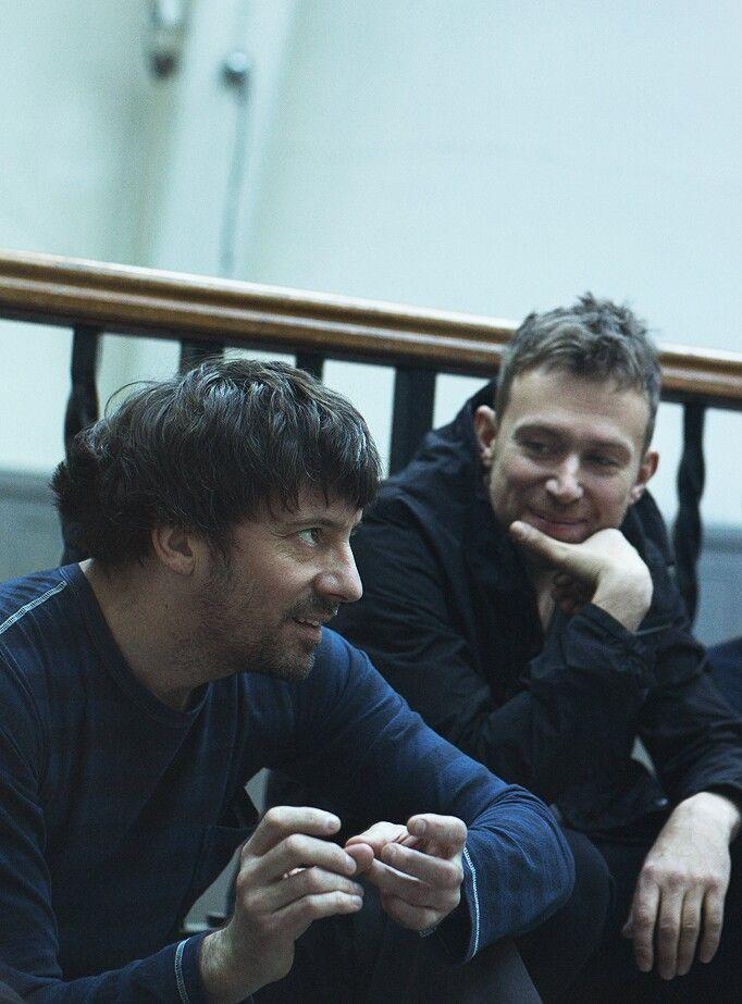 Graham Coxon & Damon Albarn #Gramon #Blur