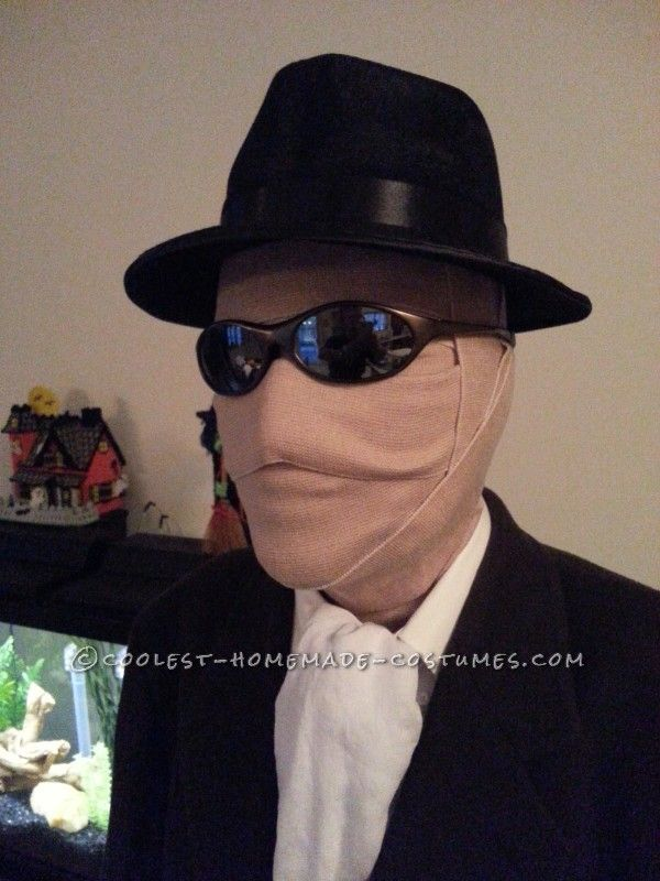 the invisible man costume homemade halloween - Homemade Men Halloween Costumes